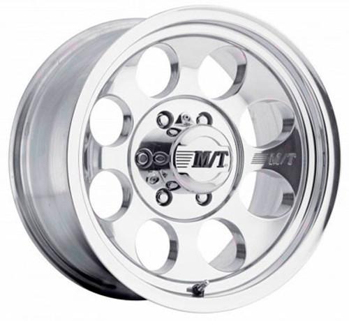 16x8 5x4.5 4.5BS Classic III Polished - Mickey Thompson Wheels
