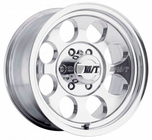 16x8 6x5.5 3.625BS Classic III Polished - Mickey Thompson Wheels