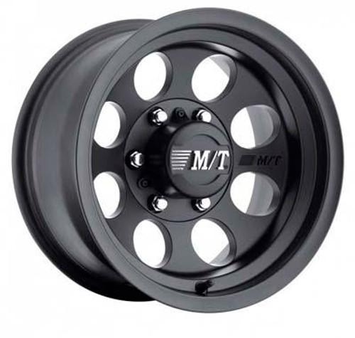 15x8 5x5.5 3.625BS Classic III Black - Mickey Thompson Wheels