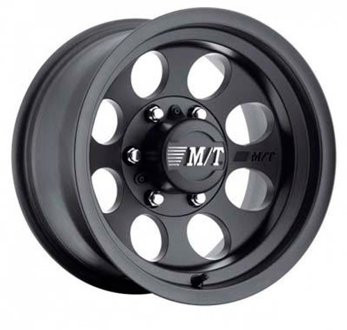 16x8 6x5.5 4.5BS Classic III Black - Mickey Thompson Wheels