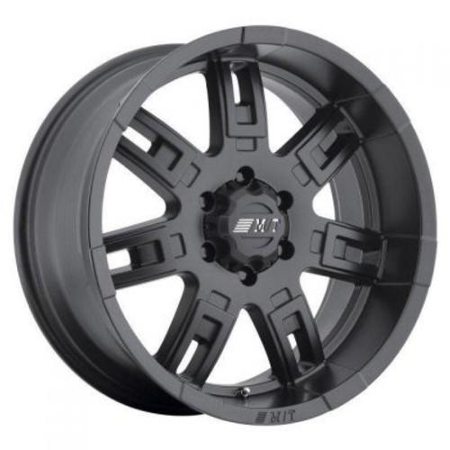 17x9 5x5 4.5BS Sidebiter II Satin Black - Mickey Thompson Wheels