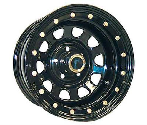 15x8 5x4.5 3.75BS Type 152 Streetlock Gloss Black Flat Black - Pro Comp Wheels