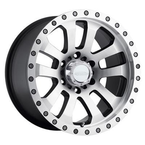 17x8 6x135 5.25BS Type 3036 Machined - Pro Comp Wheels