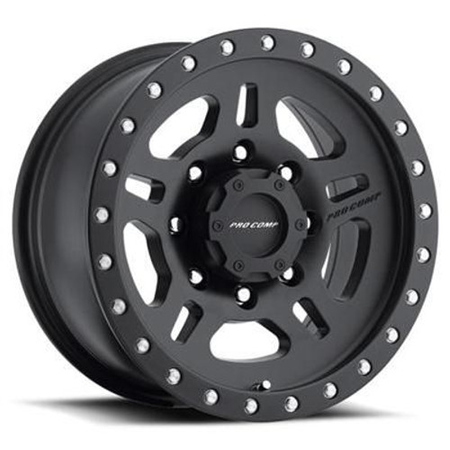16x8 6x5.5 5BS Type 5029 Satin Black - Pro Comp Wheels