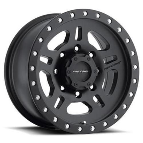 17x8.5 6x5.5 5BS Type 5029 Satin Black - Pro Comp Wheels