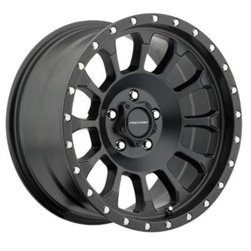 18x9 8x6.5 5BS 5034 RockwellSatin Black - Pro Comp Wheels