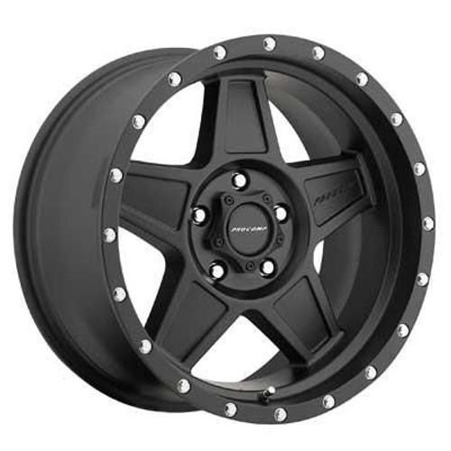 17x8.5 6x5.5 4.75BS Predator 5035 Satin Black - Pro Comp Wheels