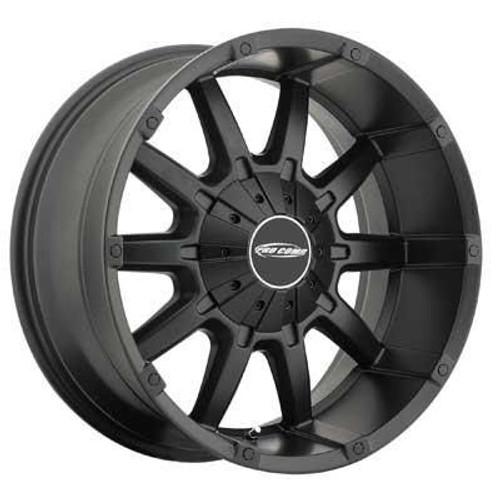 20x9 5x5/5x5.5 4.5BS 10 Gauge 5050 Satin Black - Pro Comp Wheels