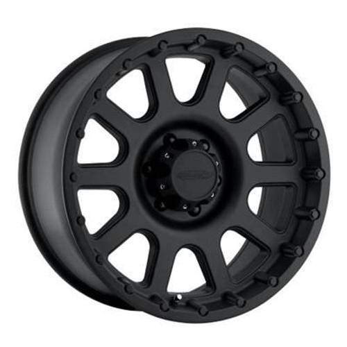 17x9 5x5.5 4.75BS Type 7032 Flat Black - Pro Comp Wheels