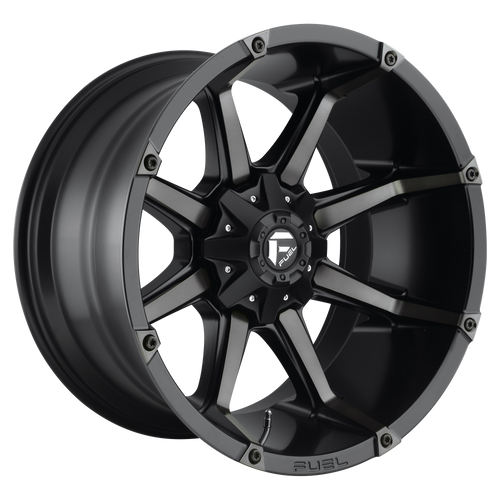 20x10 8x170 4.5BS D556 Coupler Black Machined - Fuel Off-Road