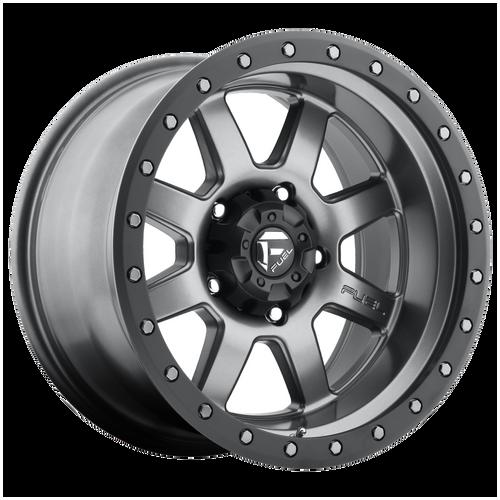 17x8.5 6x135 5BS D552 Trophy Gunmetal Matte - Fuel Off-Road