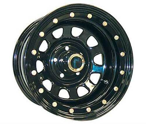 15x10 6x5.5 3.75BS Type 252 Streetlock Gloss Black - Pro Comp Wheels