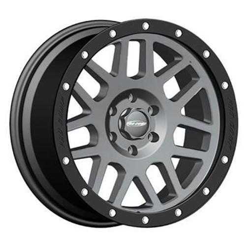17x9 6x5.5 4.75BS Type 2640 Vertigo Matte Grey - Pro Comp Wheels
