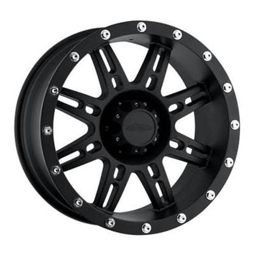 16x8 5x4.5 4.5BS Type 7031 Flat Black - Pro Comp Wheels