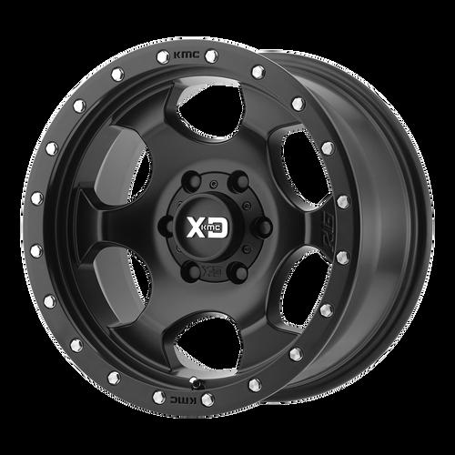 17x9 5x4.5 4.53BS XD131 RG1 Black - XD Wheels