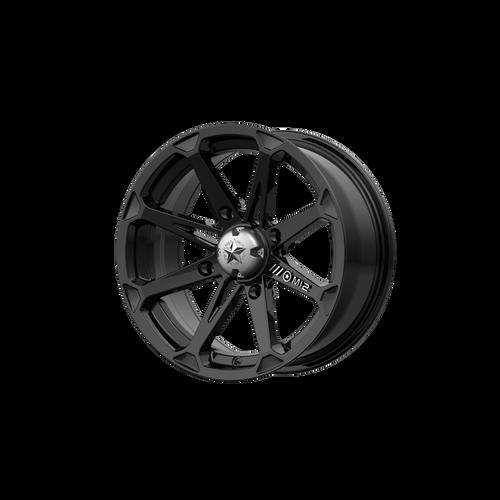 20x7 4x137 M12 Diesel  Gloss Black 10mm - MSA Wheels