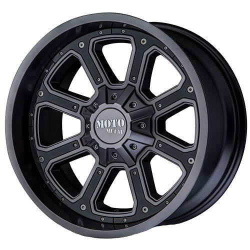 17x9 8x170 4.53BS MO984 Shift Matte Grey - Moto Metal Wheels