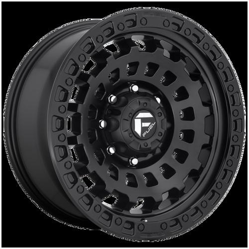 17x9 6x135 5BS D633 Zephyr Matte Black - Fuel Off-Road