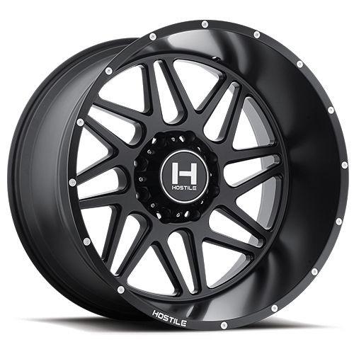 20x9 6x5.5 5.5BS H108 Sprocket Asphalt - Hostile Wheels