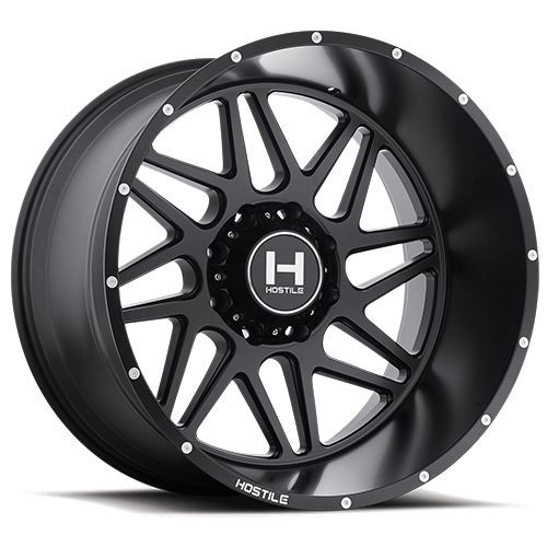 20x9 8x6.5 5.5BS H108 Sprocket Asphalt - Hostile Wheels