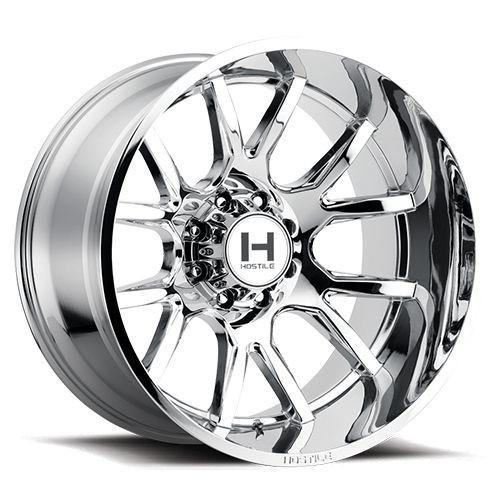 20x12 6x135 4.75BS H113 Rage Armor Plated - Hostile Wheels