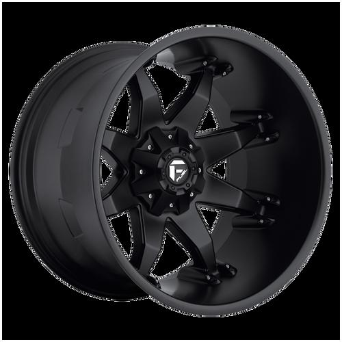 20x12 6x5.5/6x135 4.75BS D509 Octane Matte Black - Fuel Off-Road