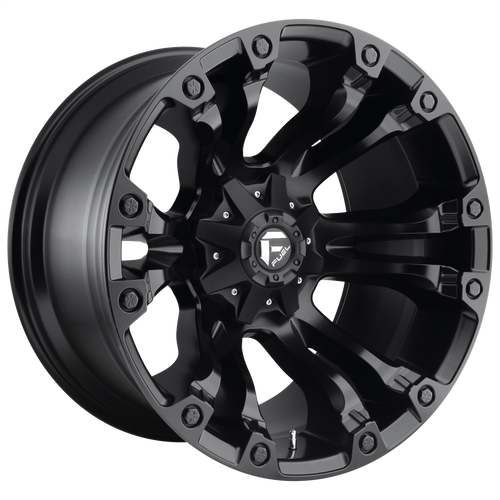 18x9 5x5.5/5x150 4.5BS D560 Vapor Black Matte - Fuel Off-Road