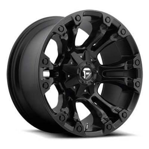 20x10 6x5.5/6x135 4.75BS D560 Vapor Black Matte - Fuel Off-Road