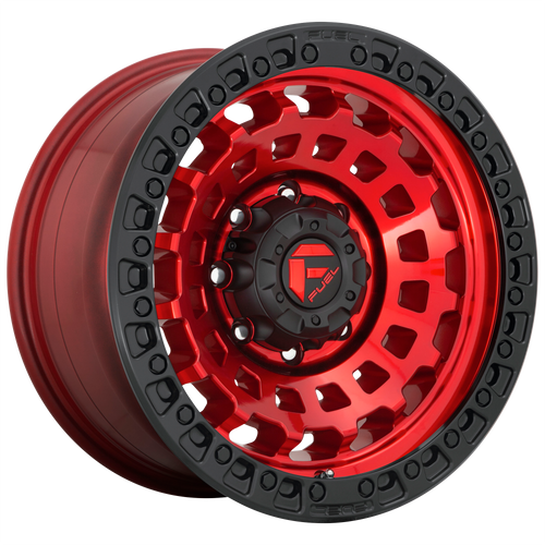 18x9 5x5 4.5BS D632 Zephyr Candy Red - Fuel Off-Road
