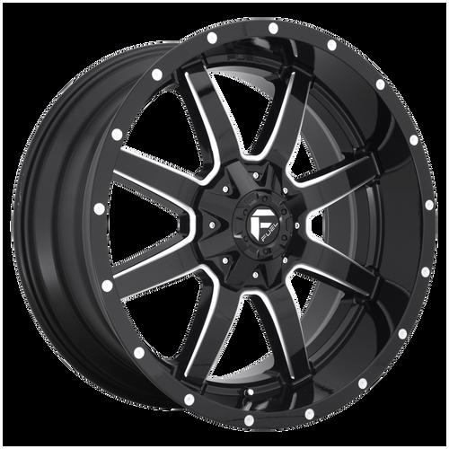 22x10 6x5.5/6x135 5.9BS D610 Maverick Gloss Black - Fuel Off-Road