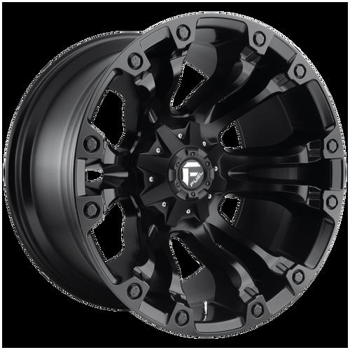 18x9 8x6.5 5.75BS D560 Vapor Black Matte - Fuel Off-Road