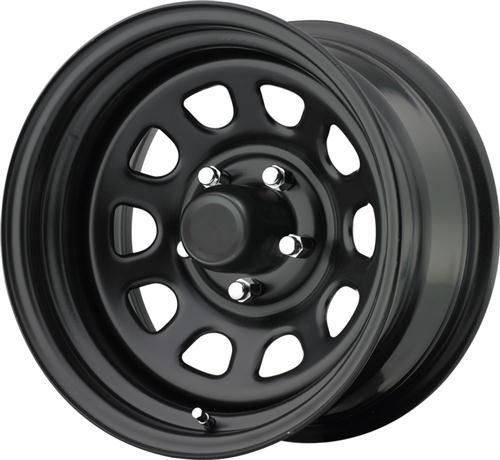 16x10 5x4.5 4BS Type 751 Black D Window - Pro Comp Wheels
