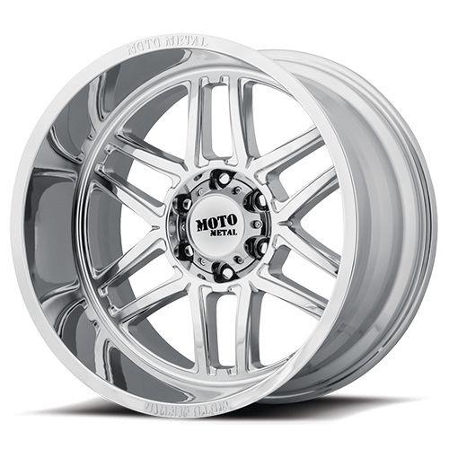 22x10 8x6.5 4.79BS MO992 Folsom Chrome - Moto Metal Wheels
