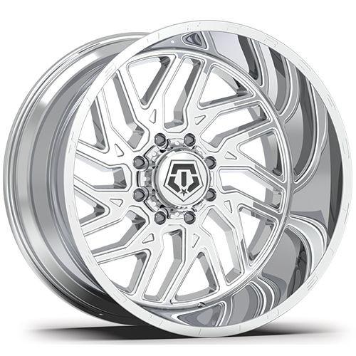 20x12 8x170 4.77BS 544C Chrome - Tis Off Road Wheels