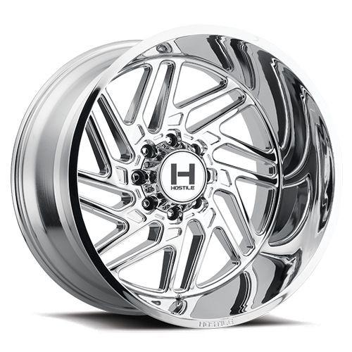 22x14 8x170 4.5BS H116 Jigsaw Armor Plated - Hostile Wheels