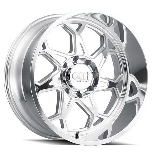 24x12 8x6.5 4.49BS 9111 Sevenfold Polished - Cali Off Road
