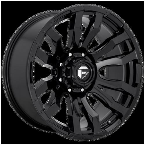 18x9 8x170 4.5BS D675 Blitz Gloss Black - Fuel Off-Road