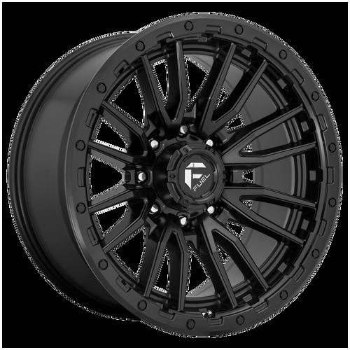 18x9 6x120 5BS D679 Rebel Matte Black - Fuel Off-Road