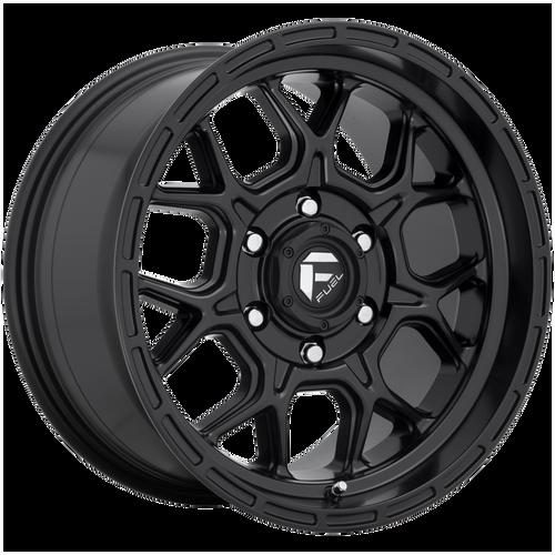 20x9 5x5 5BS D670 Tech Matte Black - Fuel Off-Road