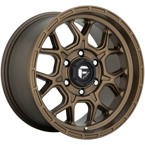 18x9 6x5.5 4.5BS D671 Tech Matte Bronze - Fuel Off-Road