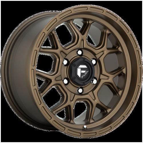 20x10 6x5.5 4.75BS D671 Tech Matte Bronze - Fuel Off-Road
