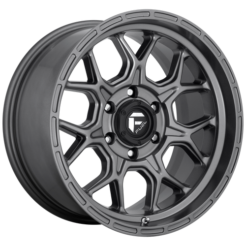 17x9 6x5.5 5.75BS D672 Tech Anthracite - Fuel Off-Road
