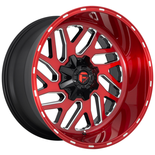 22x10 8x180 4.75BS D691 Triton Candy Red - Fuel Off-Road