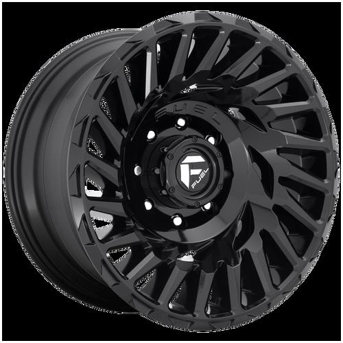 20x10 8x170 4.79BS D682 Cyclone Gloss Black - Fuel Off-Road