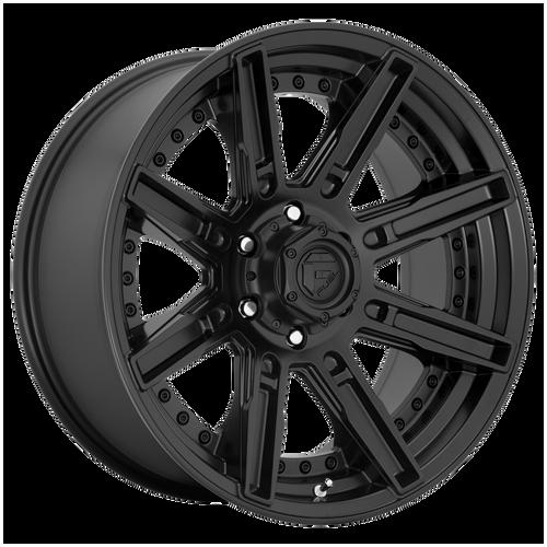20x9 5x5 5.04BS D709 Rogue Matte Black - Fuel Off-Road