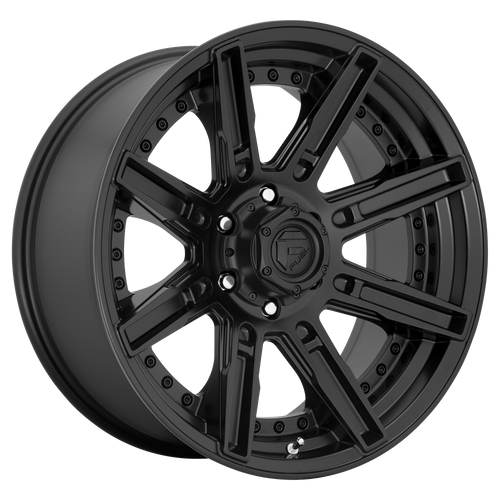20x9 5x5.5 5.04BS D709 Rogue Matte Black - Fuel Off-Road
