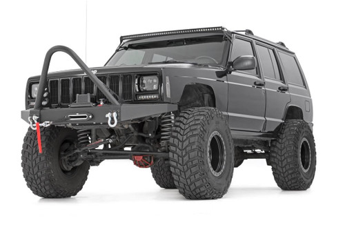 84-01 Jeep XJ 4WD 4.5in X-Series Suspension System - Rough Country Suspension
