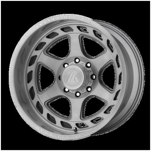22x10 8x170 4.79BS AB816 Anvil Brushed Titanium - Asanti Off-Road Wheels