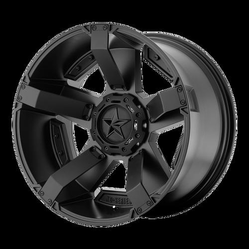 20x9 5x4.5/5x4.75 6.18BS XD811 Rockstar 2 Matte Black - XD Wheels