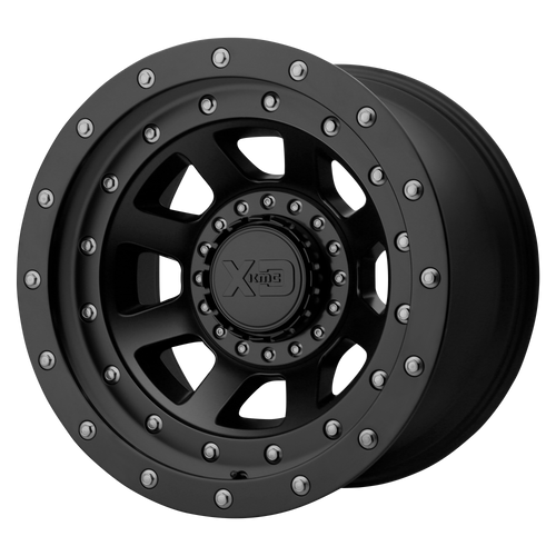 20x10 5x5/5x5.5 4.79BS XD137 FMJ Satin Black - XD Wheels